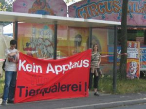 Zirkus-Demo TIRM - Victor und Viola